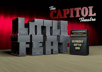 Little Feat at the Capitol Theatre Event Poster