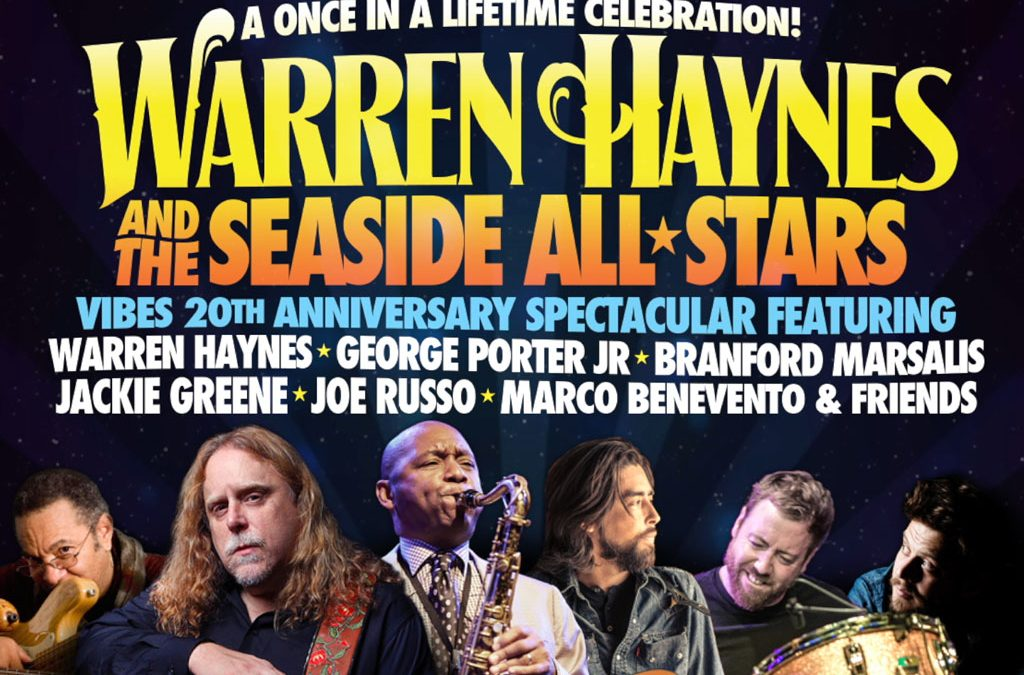 Warren Haynes & The Seaside Allstars Video