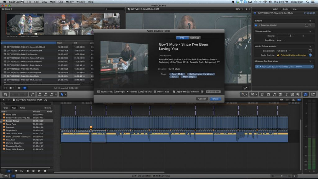 video production, video editing, final cut pro